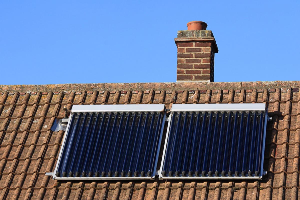 zonnecollector zonneboiler plaatsen
